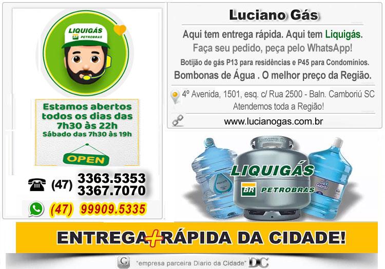Tele entrega de gás Balneário Camboriú